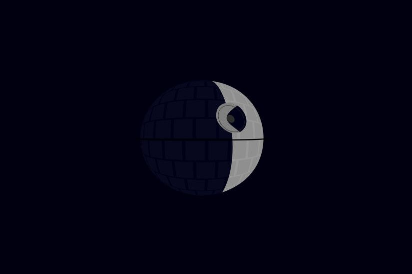 minimalism, Star Wars, Death Star