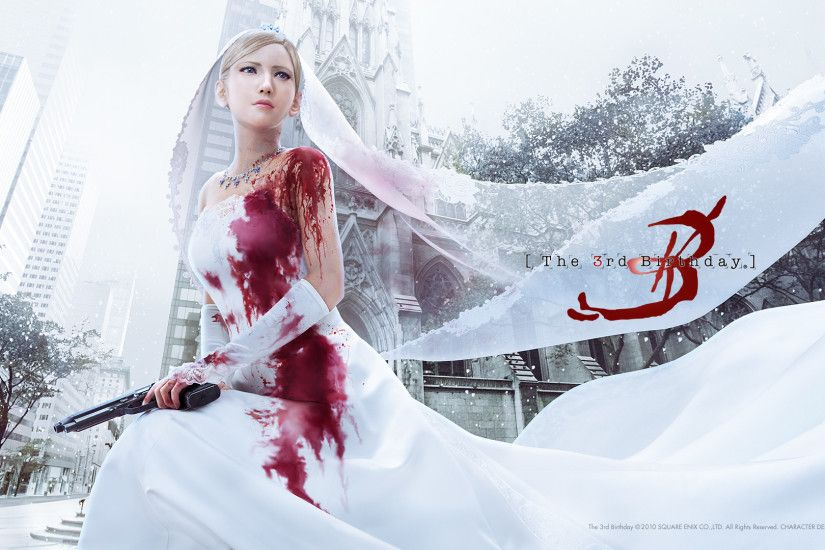 Aya Brea - The 3rd Birthday - Parasite Eve 3 | I feel funny in my  pantaloons | Pinterest | Wallpaper and Videogames