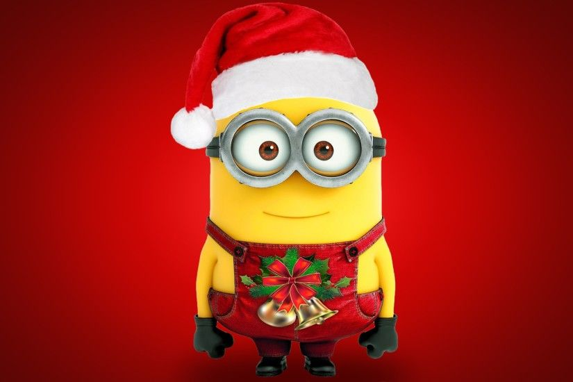 Despicable Me, Christmas, Minions, Red Background Wallpapers HD / Desktop  and Mobile Backgrounds