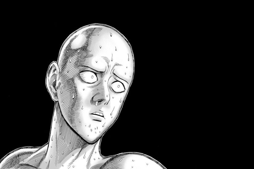 Saitama Stupid Face - One Punch Man HD Wallpaper