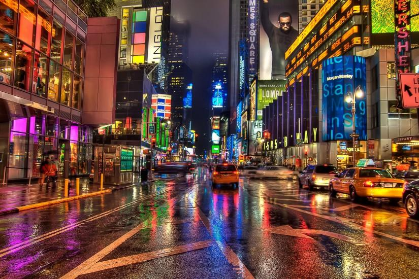 New York City Times Square Wallpaper HD wallpaper background