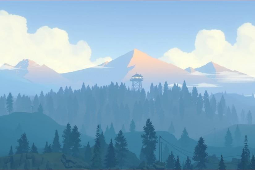 full size firewatch wallpaper 1920x1080