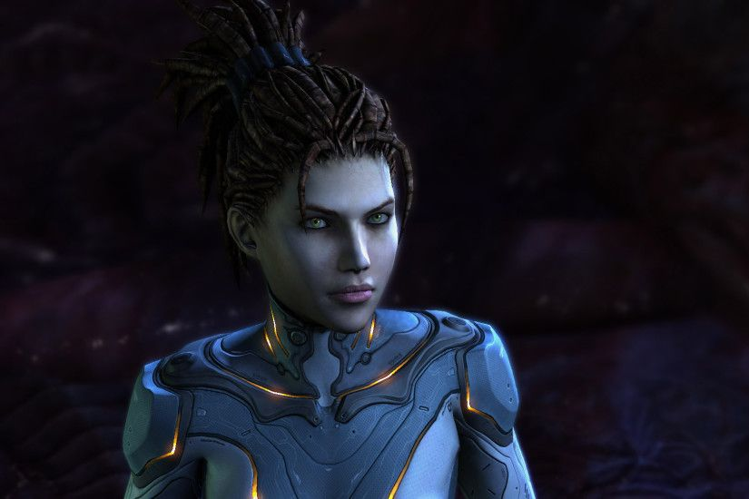 Starcraft 2 Sarah Kerrigan by kebzuref Starcraft 2 Sarah Kerrigan by  kebzuref