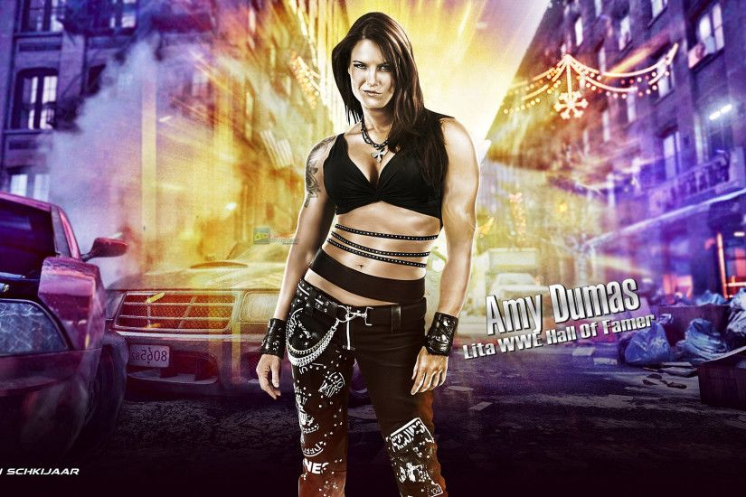 Free Wallpapers - Lita WWE 1920X1080 Wallpaper