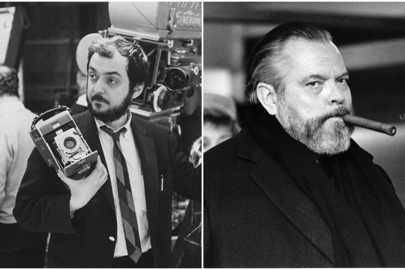 Stanley Kubrick and Orson Welles