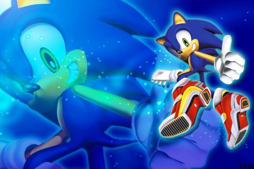 Sonic Adventure 2 Sonic Wallpaper by SonicTheHedgehogBG on DeviantArt