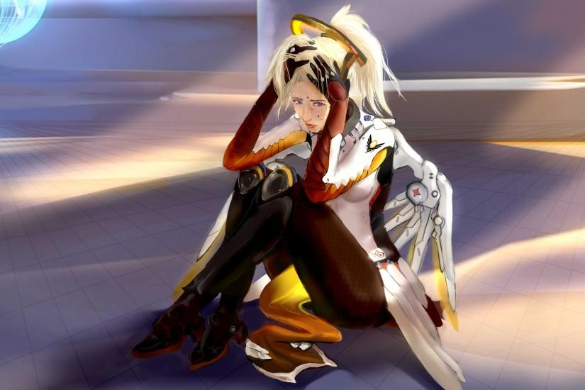 download mercy overwatch wallpaper 3000x1880 for iphone