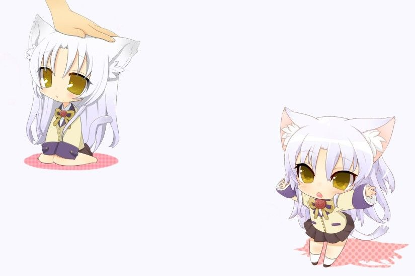 Angel Beats Chibi Wallpaper