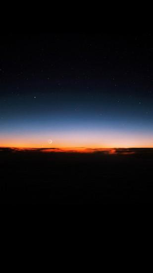 Sunset sky at night Wallpapers for Galaxy S5