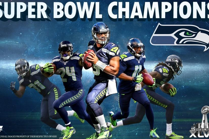 Super Bowl Champions Seattle Seahawk HD Wallpapers.