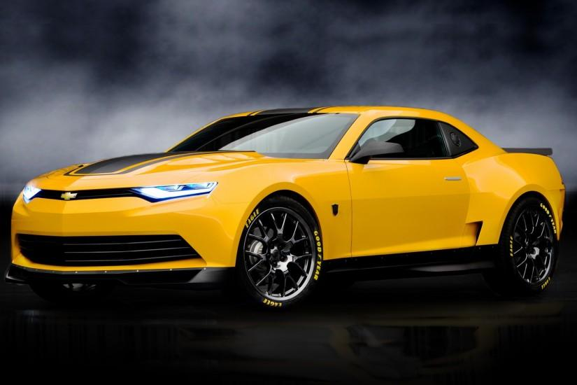 Bumblebee Camaro Concept Transformers 4 HD Wallpaper #6264