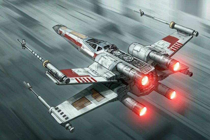 Sci Fi - Star Wars X-Wing Wallpaper