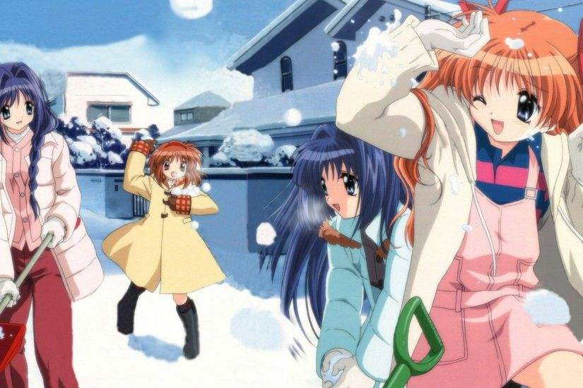 Download Girl Winter Snow Game Snowball Fight Fun Street Elite Badass Anime  Wallpaper In Many Resolutions
