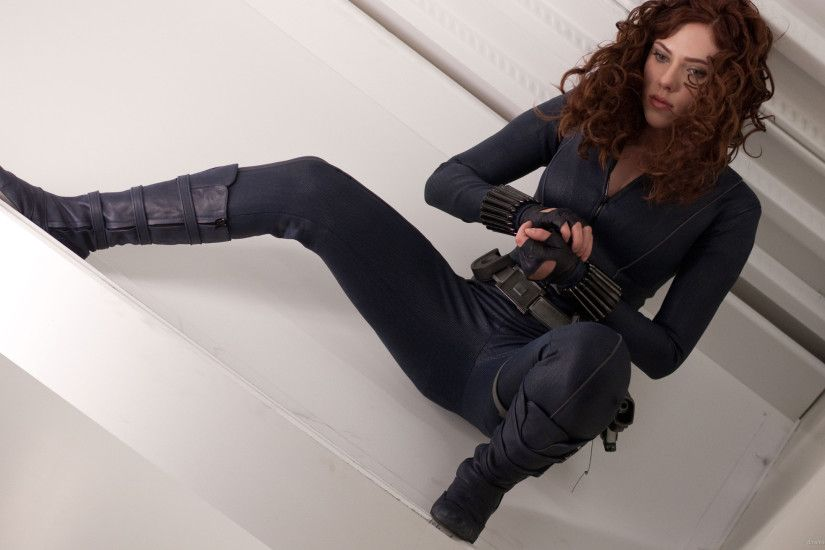 Scarlett Johansson As Black Widow for 2560x1440