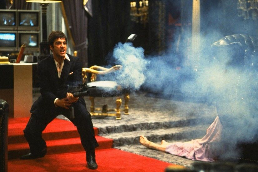 "Scarface; ""Say hello to my lil friend""...lol. Another"