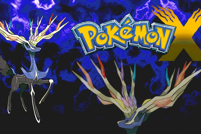Xerneas Wallpaper by KrocF4 Xerneas Wallpaper by KrocF4