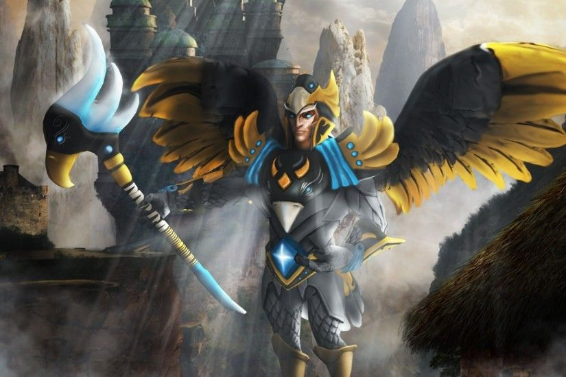Dota2 : Skywrath Mage Desktop wallpapers