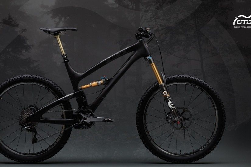 black bicycles yeti suspension foxes mountainbike bike dvuhpodves