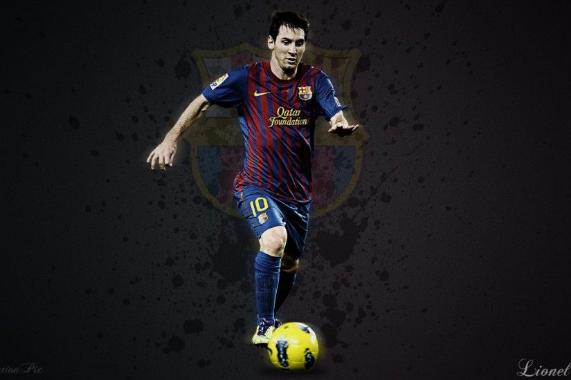 FC Barcelona Lionel Messi 2014 2015 Wallpaper HD Desktop.