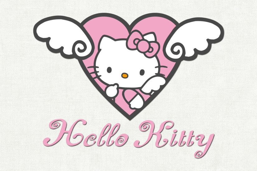 Pink And Black Hello Kitty Backgrounds Wallpaper 1920×1200