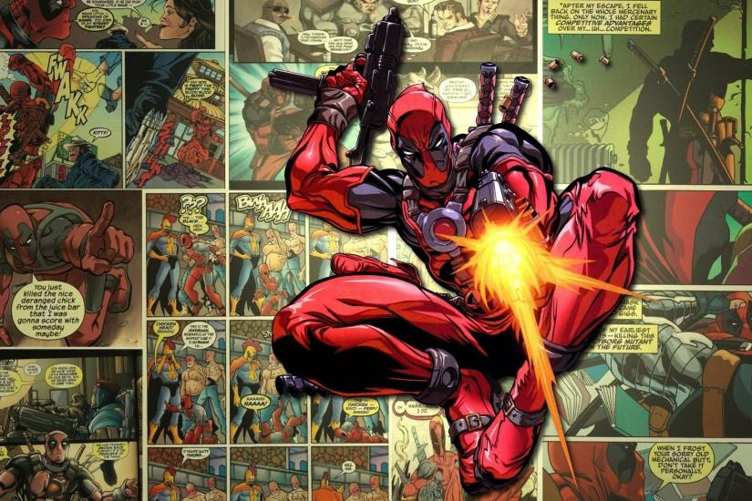 Comic Book HD Wallpaper.