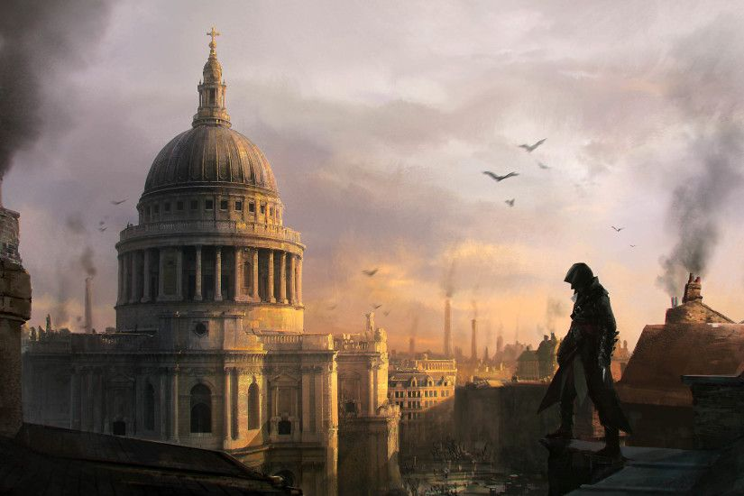 Assassin's Creed Syndicate Artwork 3840x2160 wallpaper