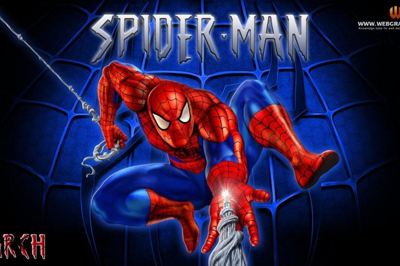 Spider Man Cartoon Wallpaper