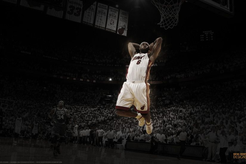 ... RafaelVicenteDesigns LeBron James Wallpaper l Rafael Vicente Designs by  RafaelVicenteDesigns
