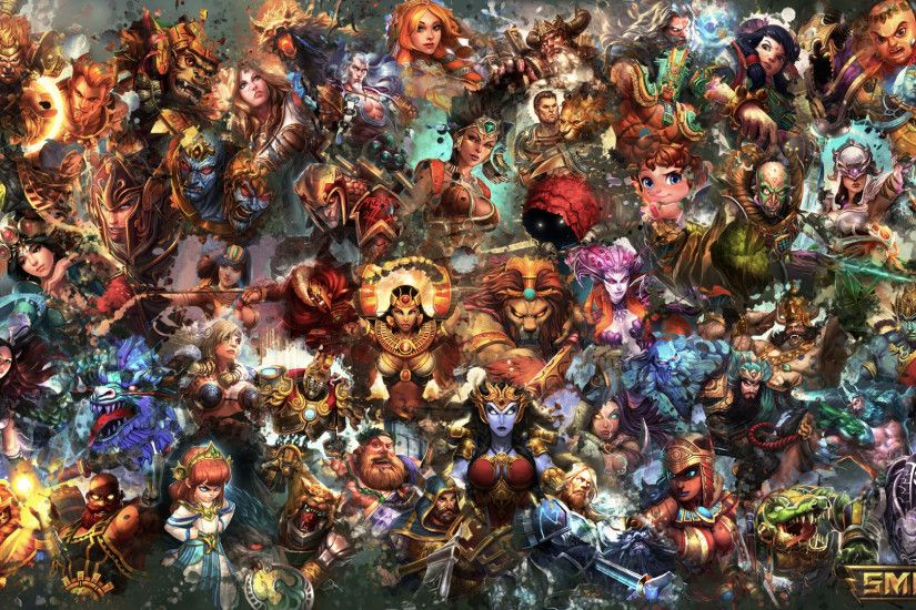 Video Game - Smite Video Game Wallpaper