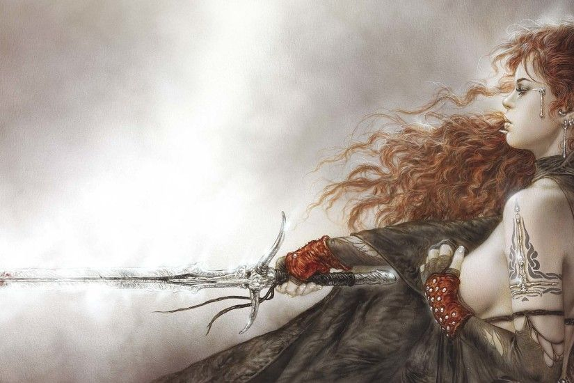 Luis Royo images Female Fighter HD wallpaper and background photos