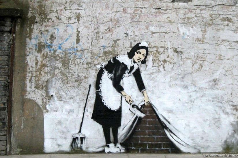 42 Banksy Backgrounds