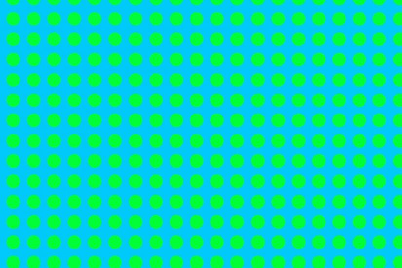 ... green dot blue background ...