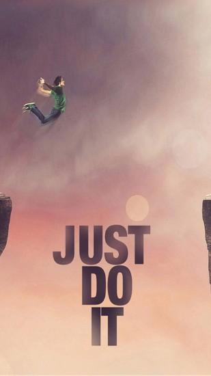 just do it tomorrow nike iphone 6 plus hd wallpaper