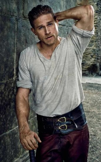 Charlie Hunnam is the perfect King Arthur for Guy Ritchie's particular  style. http://imgur.com/tVqWdxR