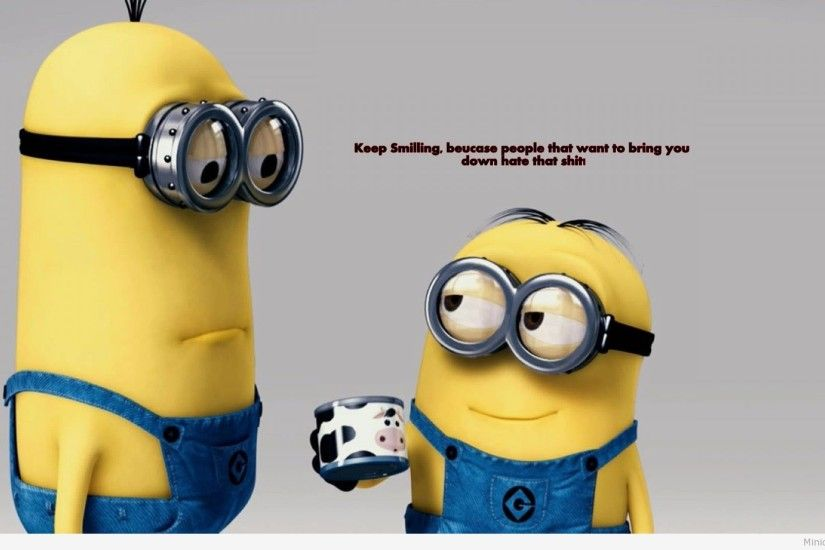 Funny Cartoon wallpaper with minions