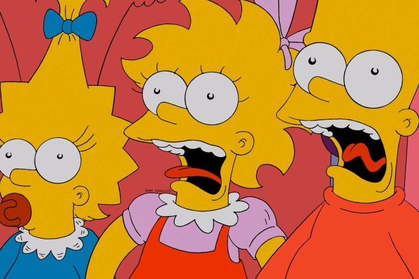 The Simpsons, Lisa Simpson, Bart Simpson, Maggie Simpson Wallpapers HD /  Desktop and Mobile Backgrounds