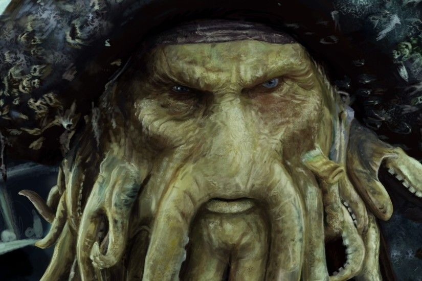 1920x1080 Figure, Figure Pirate Pirates Of The Caribbean Davy Jones The  Captain Of The Flying Dutchman, Hd Films, The Captain Of The Flying Dutchman,  ...