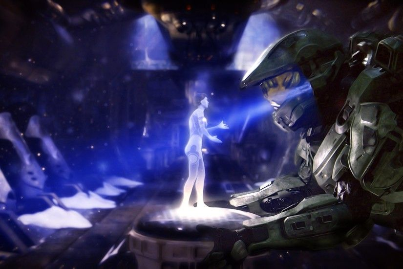 cortana-master-chief-halo-4-HD-Wallpapers | Glasslands