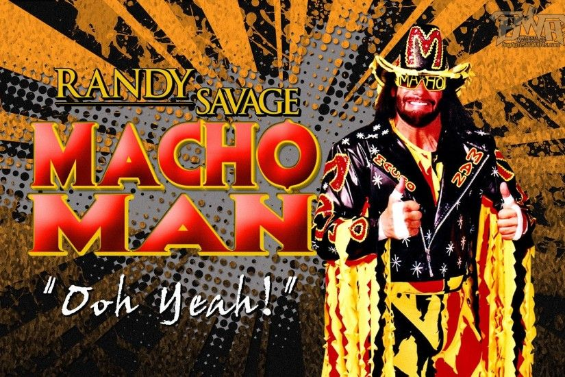 "Wrestling Legend: ""Macho Man"" Randy Savage Wallpaper!"