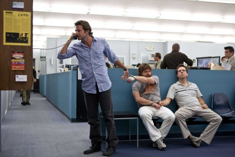 Alan, Phil, The Hangover, Stu, police station