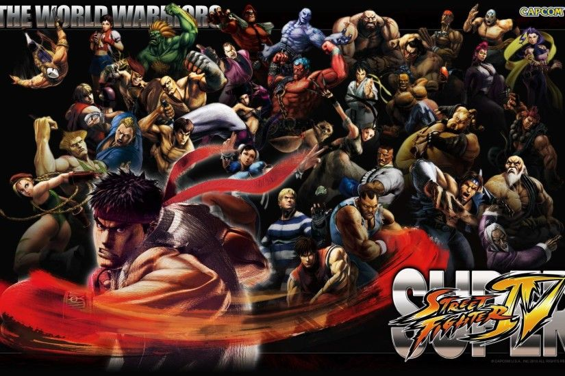 Super Street Fighter IV - Wallpaper Gallery