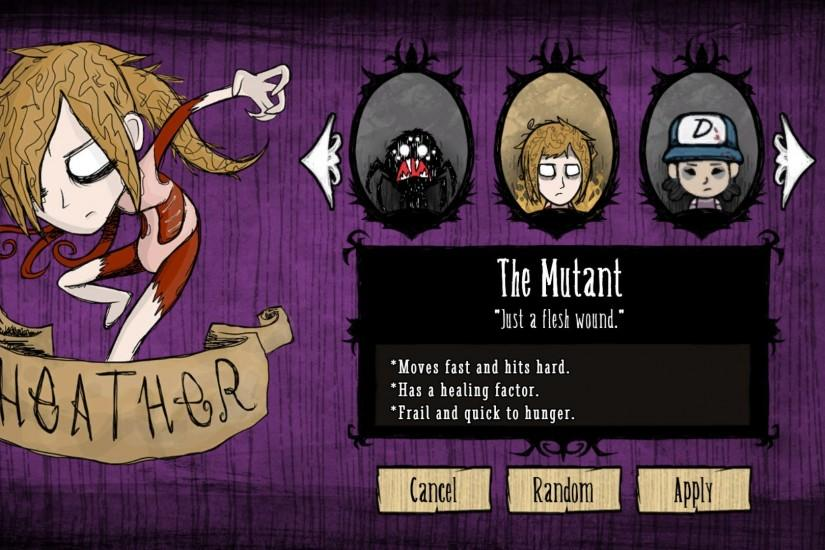 ... The Mutant -- Don't Starve by Patriarachnid