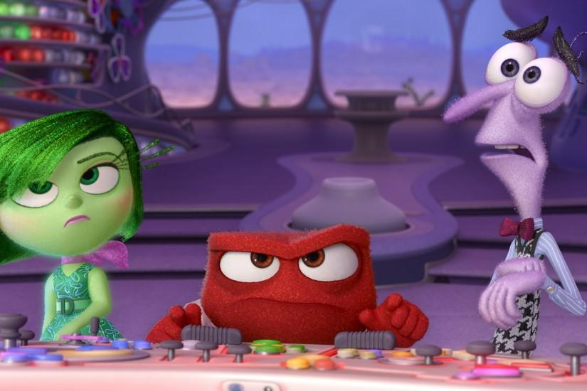 Movie - Inside Out Anger (Inside Out) Fear (Inside Out) Disgust (