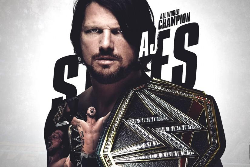 WWE Wrestler AJ Styles Wallpapers For Android