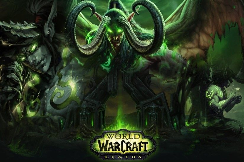 <b>ANIMATED ILLIDAN STORMRAGE WALLPAPER</b> World of Warcraft : Legion