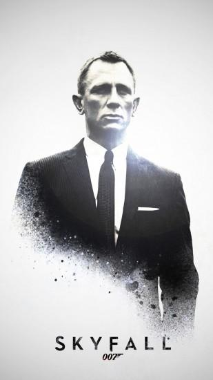 Skyfall James Bond 007 htc one wallpaper