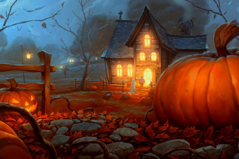 free halloween backgrounds 1920x1200 for mobile