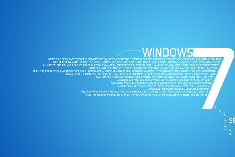 Windows 7 Blue Backgrounds - Wallpaper Cave ...