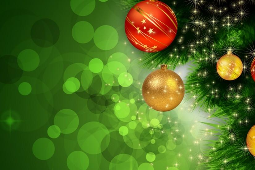 download free green christmas background 1920x1080