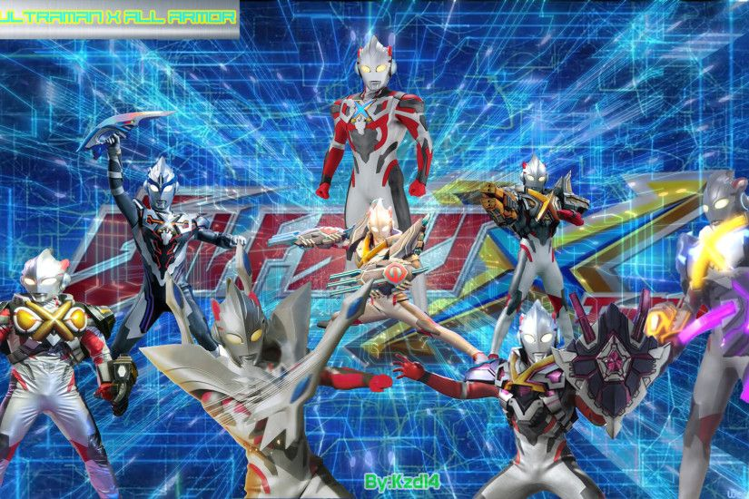 Ultraman X All Armor By Kzd14 On DeviantArt